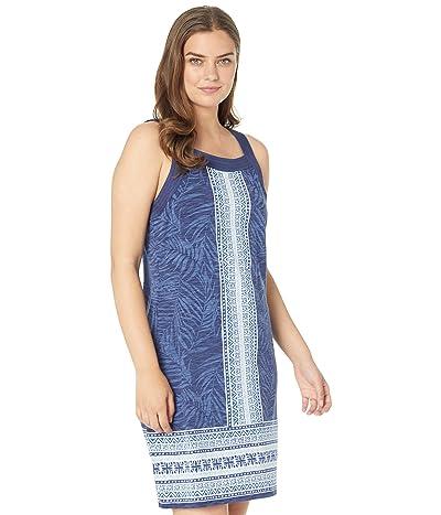 Tommy Bahama Kona Floral Stripe Dress Sleeveless