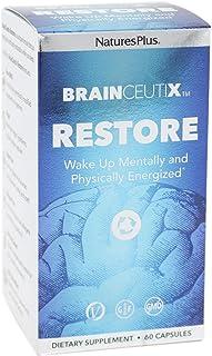 NaturesPlus Brainceutix Restore - 60 Vegan Capsules - Promotes Healthy Sleep & Nighttime Brain Recovery - Cognitive Suppor...