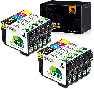 JARBO Remanufactured Ink Cartridge Replacement for Epson 200XL 200 XL T200XL to use with XP-200 XP-300 XP-310 XP-400 WF-2520 WF-2530 WF-2540 Printer (4BK, 2C, 2M, 2Y) 10 Packs