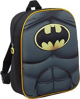 Warner 4632151 Batman Vs Superman Zainetto per Bambini Nero Poliestere 28 cm