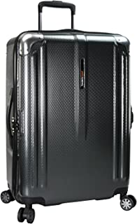 Traveler's Choice New London 100% Polycarbonate Trunk Spinner Luggage - 26, Gray (Gray) - TC09070G26