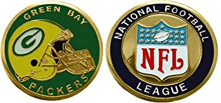 Collectible Challenge Coin- Logo Poker- Lucky Chip for Packers