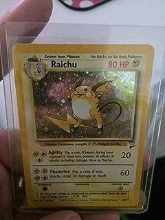 Pokemon - Raichu (16) - Base Set 2 - Holo