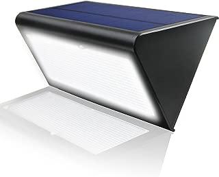 Radar Motion Sensor Light Outdoor LED Solar Wall Lights 48 LEDs 800LM Waterproof Exterior Security Lamp, 33ft Sensing Distance, 360° Motion Detection, 4 Modes for Garage Walkway Front Door Lighting