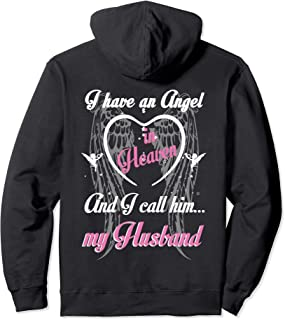 I have an angel in heaven, my Husband guardian angel shirt
