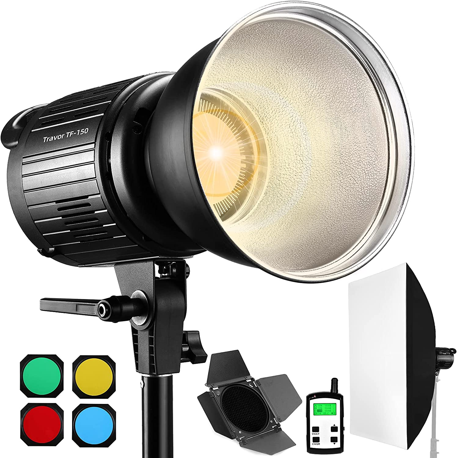Travor TF-150A Bi-Color 150W LED Max 84% shopping OFF Light with Bowens Mount Video