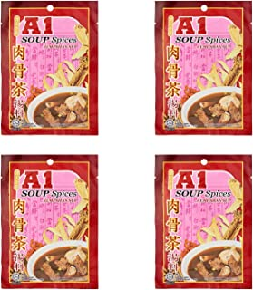 4 Pack A1 Herbal Soup Spices Bak Kut Teh Imported from Malaysia Free Express Delivery