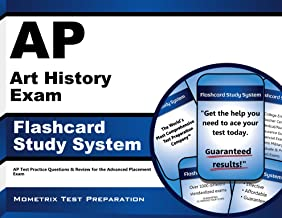 AP Art History Exam Flashcard Study System: AP Test Practice Questions & Review for the Advanced Placement Exam