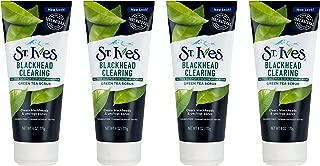 St. Ives Blackhead Clearing Face Scrub, Green Tea, 6 oz, 4 count