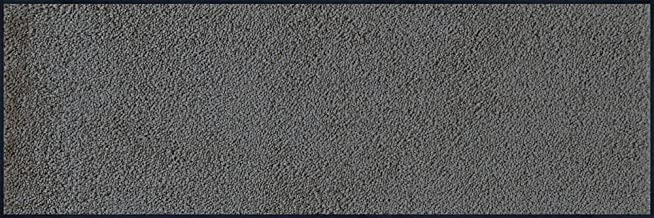 Wash + dry Doormat Anthracite (Smokey Mount) / Grey 60 x 180 cm, Inside and Outside, Washable
