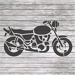 Motorcycle Stencil for Craft and Home Decoration CFT0012