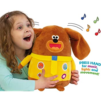 hey duggee singing sticky stick soft toy 27cm for ages 10 months+