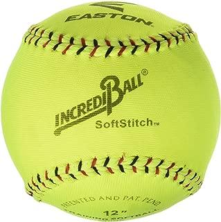 Ragballs Easton 12 in Soft stitch Incrediball, Neon Yellow - 003793