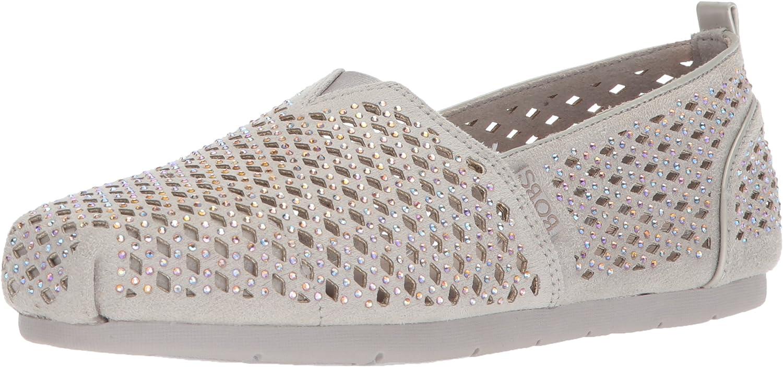 Skechers Womens Luxe Bobs - Dazzlin Ballet Flat