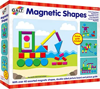 Galt Toys, Magnetic Shapes, Design with Shapes, Ages 3 Years Plus