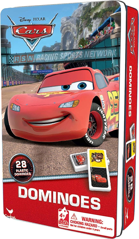 (Cars 2)  Cardinal  Metal Dominos Box.