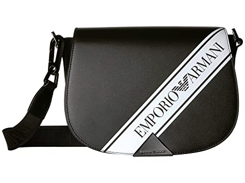 Emporio Armani Logo Stripe Shoulder Bag