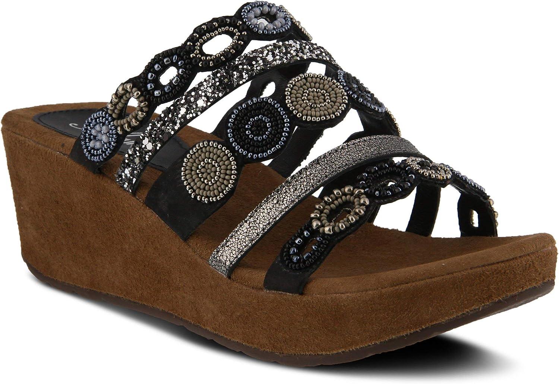 Azura Women's Claretha Textile Slide Sandal
