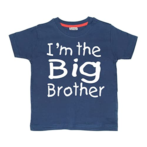 f3a9e036 Edward Sinclair 'Im the Big Brother' navy t-shirt
