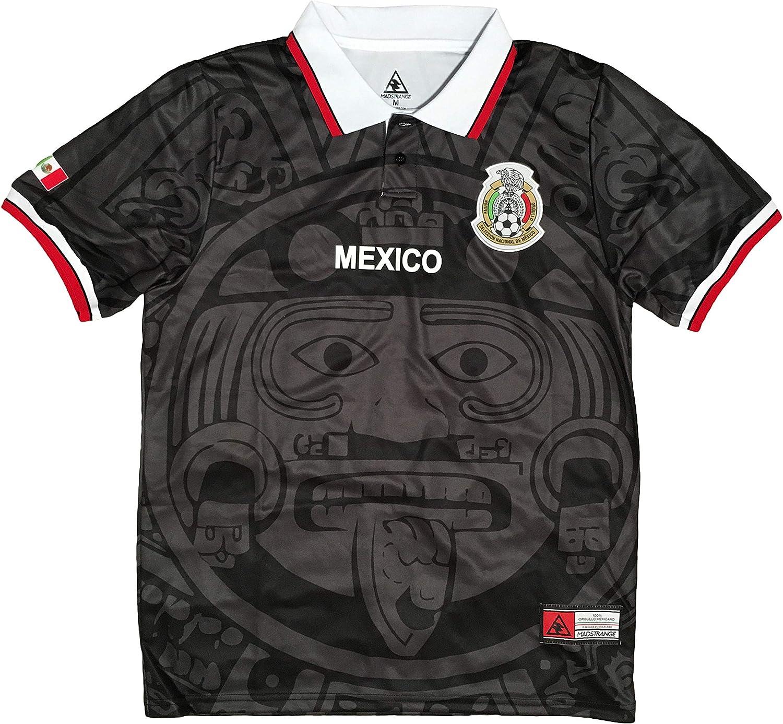 MadStrange Mexico Retro Max 81% OFF 1998 Soccer Black Jersey Ranking TOP2