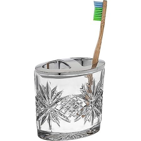 Godinger Toothbrush Holder Dublin Crystal Collection