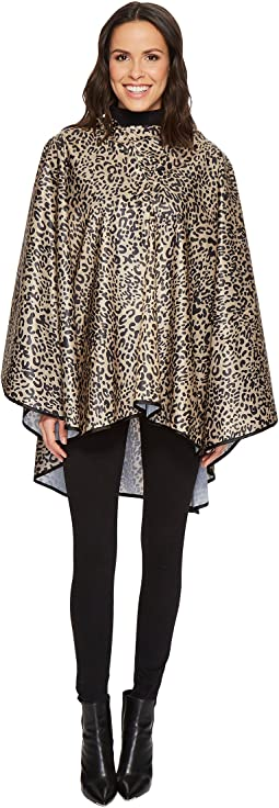 Collection XIIX - Leopard Rounded Rain Poncho