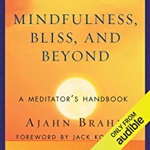 mindfulness bliss and beyond a meditator's handbook