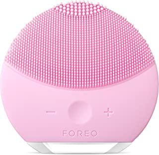 FOREO LUNA mini 2 Facial Cleansing Brush, Gentle Exfoliation and Sonic Cleansing for All Skin Types
