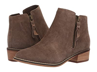 Blondo Liam Waterproof Bootie (Dark Taupe Suede) Women
