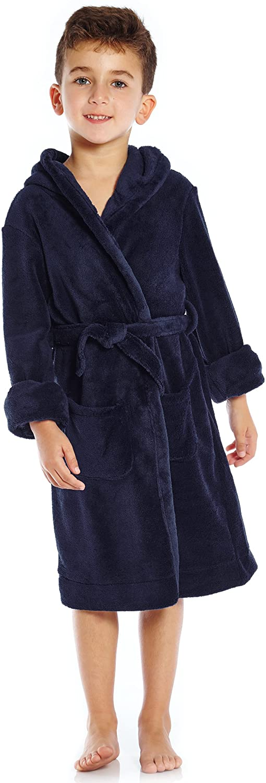 Leveret Kids Robe Boys Girls Discount is also underway Bath Solid depot Sleep Fleece Hooded
