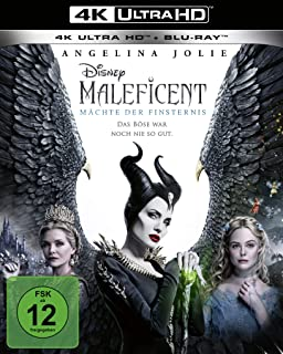 Maleficent-Mächte der Finsternis (4K Ultra HD) (+ Blu-Ray 2D) [Import]