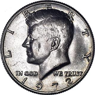 kennedy half dollar 1972 no mint mark