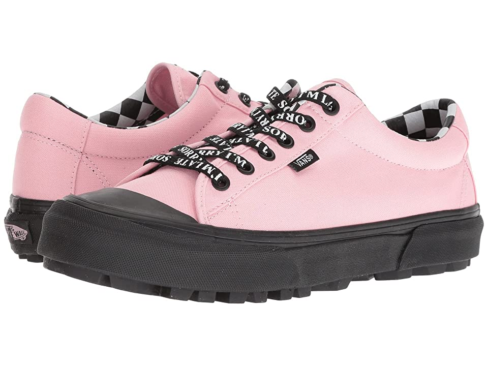 Vans Style 29 X Lazy Oaf Collab (Almond Blossom/Black) Skate Shoes
