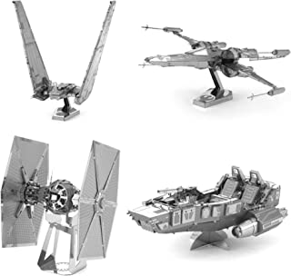 Fascinations Metal Earth 3D Laser Cut Model - Star Wars The Force Awakens Set of 4
