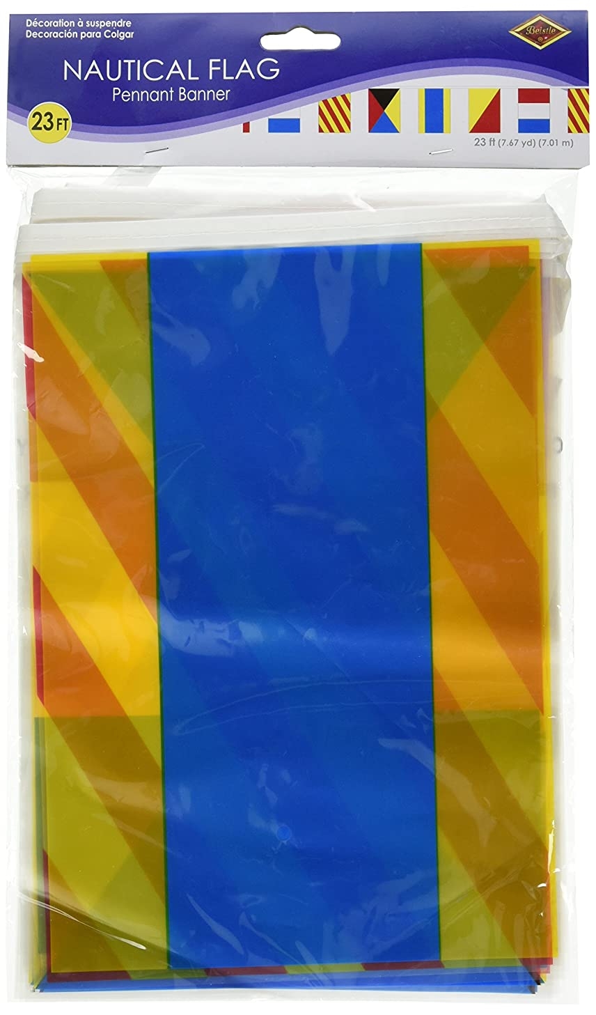 Nautical Flag Banner Party Accessory (1 count) (1/Pkg)