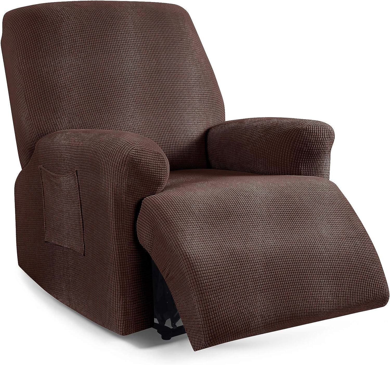 Recliner Cover Super sale 4-Pieces TAOCOCO Stretch Popular brand Sofa Slipcover