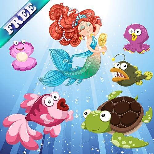 Sereias e peixes para bebés e crianças: descubra o oceano!