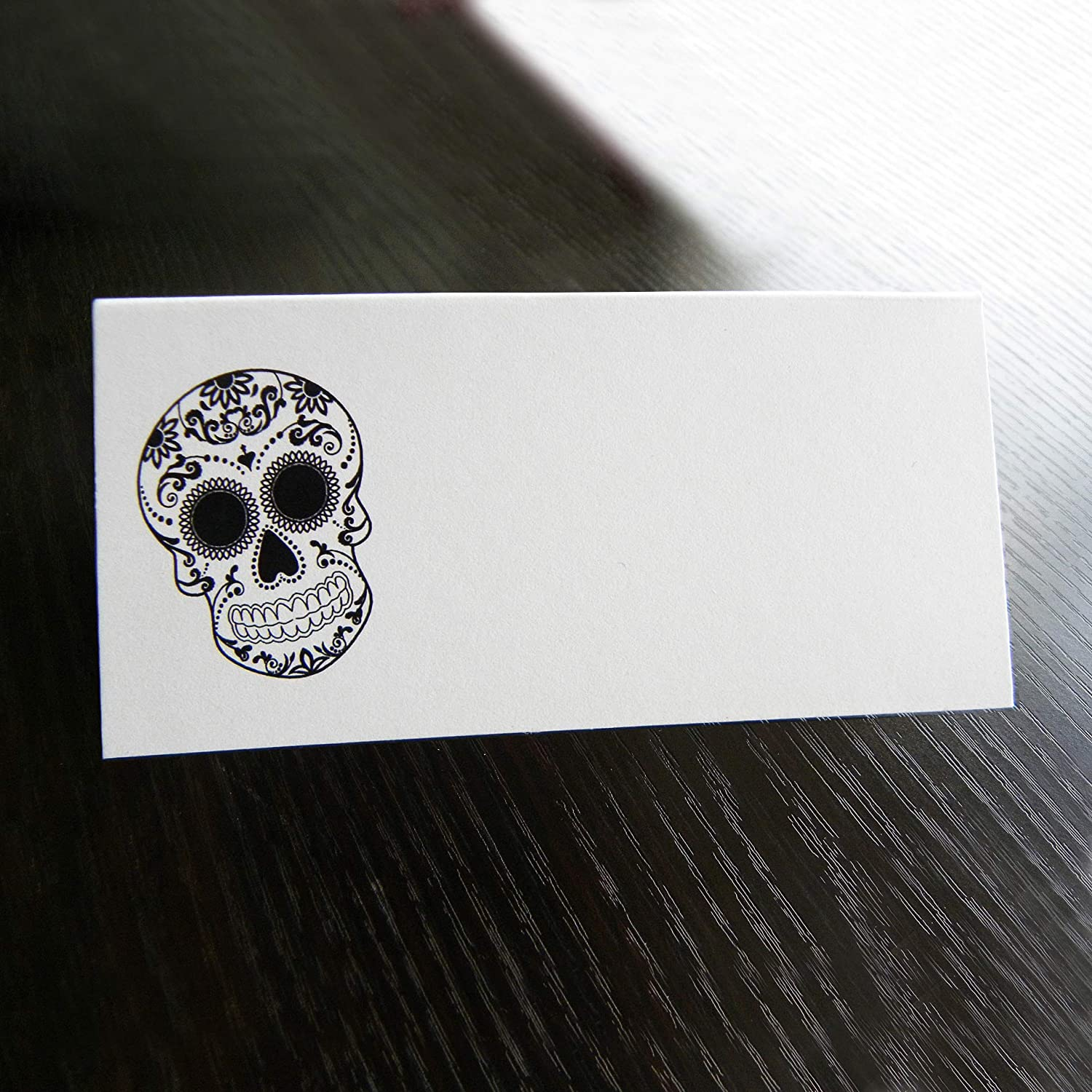 30qty Skull Tent Style Fashion Escort Selling rankings Cards Wedding Folded Place
