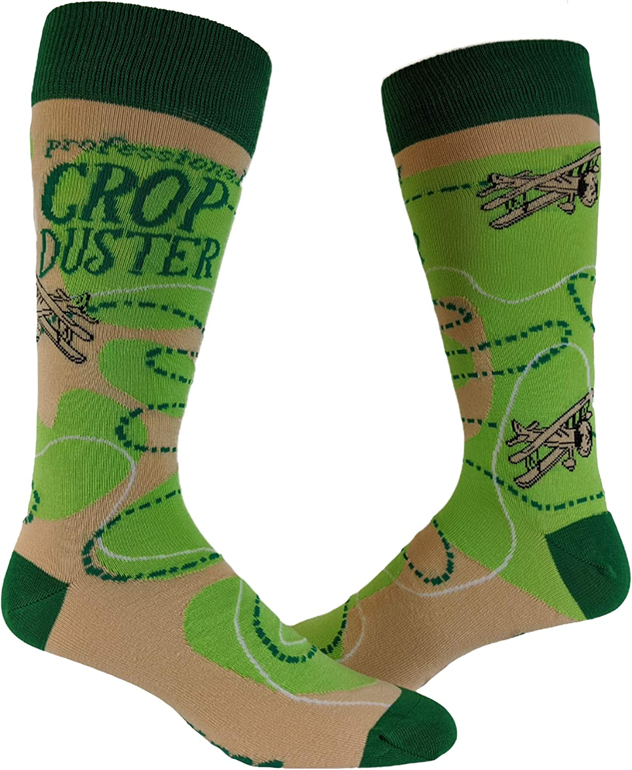 Men's New color At the price of surprise Crop Duster Socks Funny Gr Humor Bathroom Airplane Farting