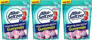 Alka-Seltzer Heartburn Relief Gummies, Mixed Fruit, 108 Count (3 x 36 Count)