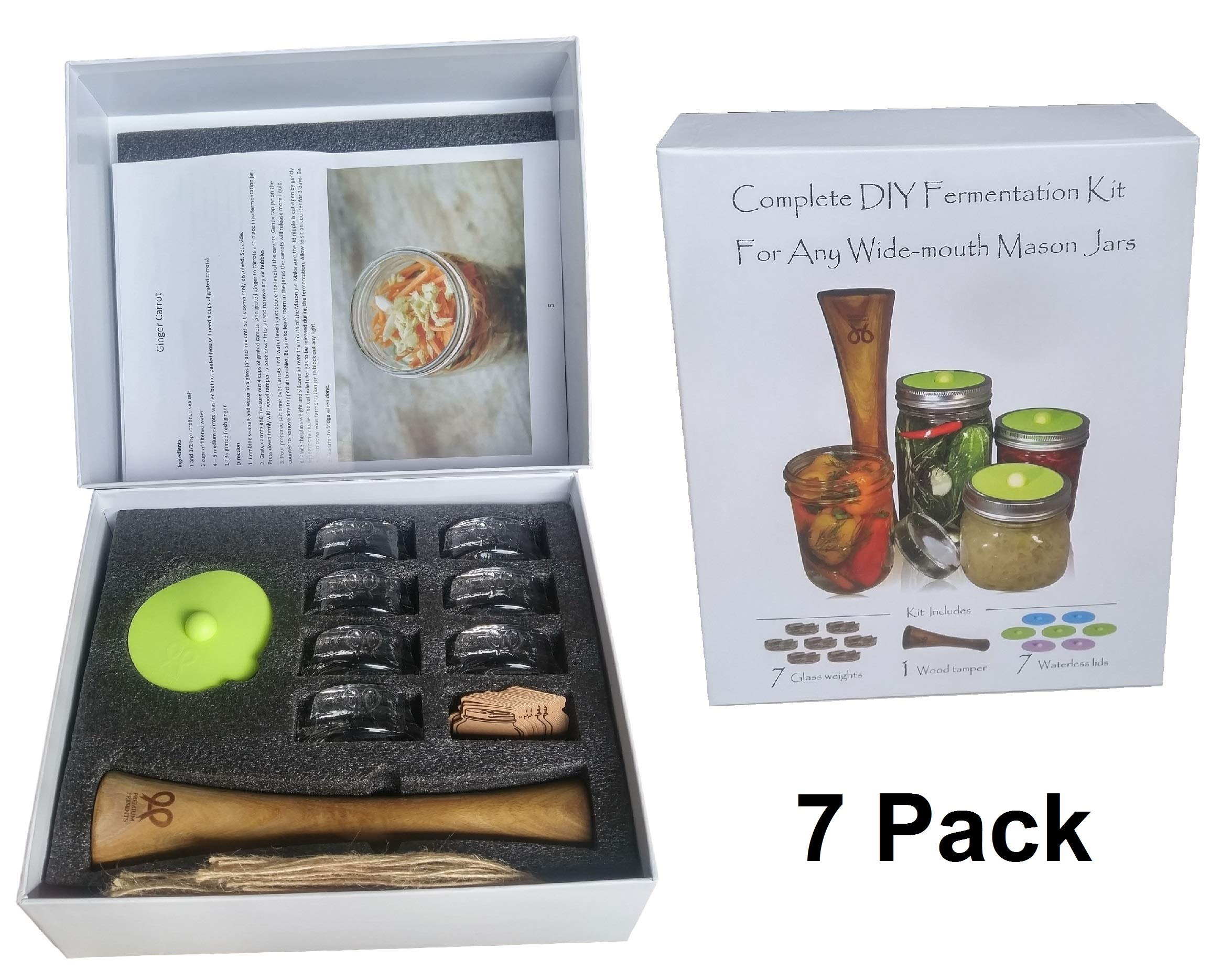 kit Complete fermentation Sauerkraut fermented food Premium
