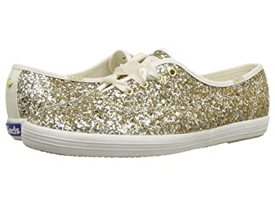 Keds x kate spade new york Champion (Platinum Glitter) Women