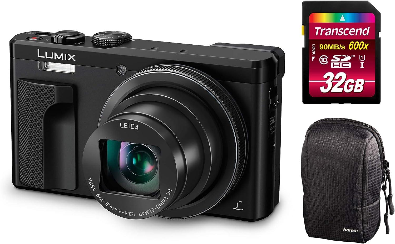 Panasonic Lumix Dmc Tz81 Eg S Silber Digitalkamera Set Kamera