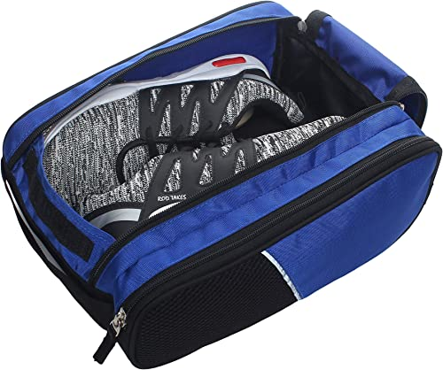 Multi Purpose Travel Shoe Bag Storage Footwear Storage Organizer For Men And Women Royal Blue