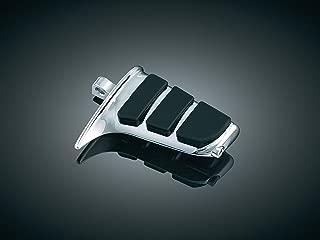 Kuryakyn 4463 Motorcycle Footpegs: Premium ISO SweptWing Pegs with Male Mount Adapters, Chrome, 1 Pair