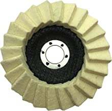 Glans polijstschijf 125 x 22,2 mm polijstschijf (1 stuk).