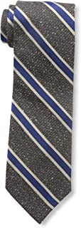 Bruno Piattelli Men's Boucle Textured Silk Necktie, Blue