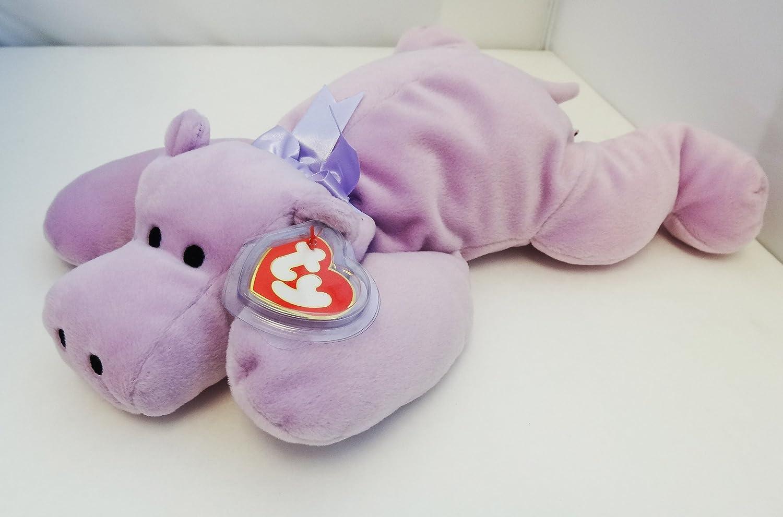 TY BEANIE BUDDY HIPPO TEDDY SOFT TOY IN UK FABULOUS