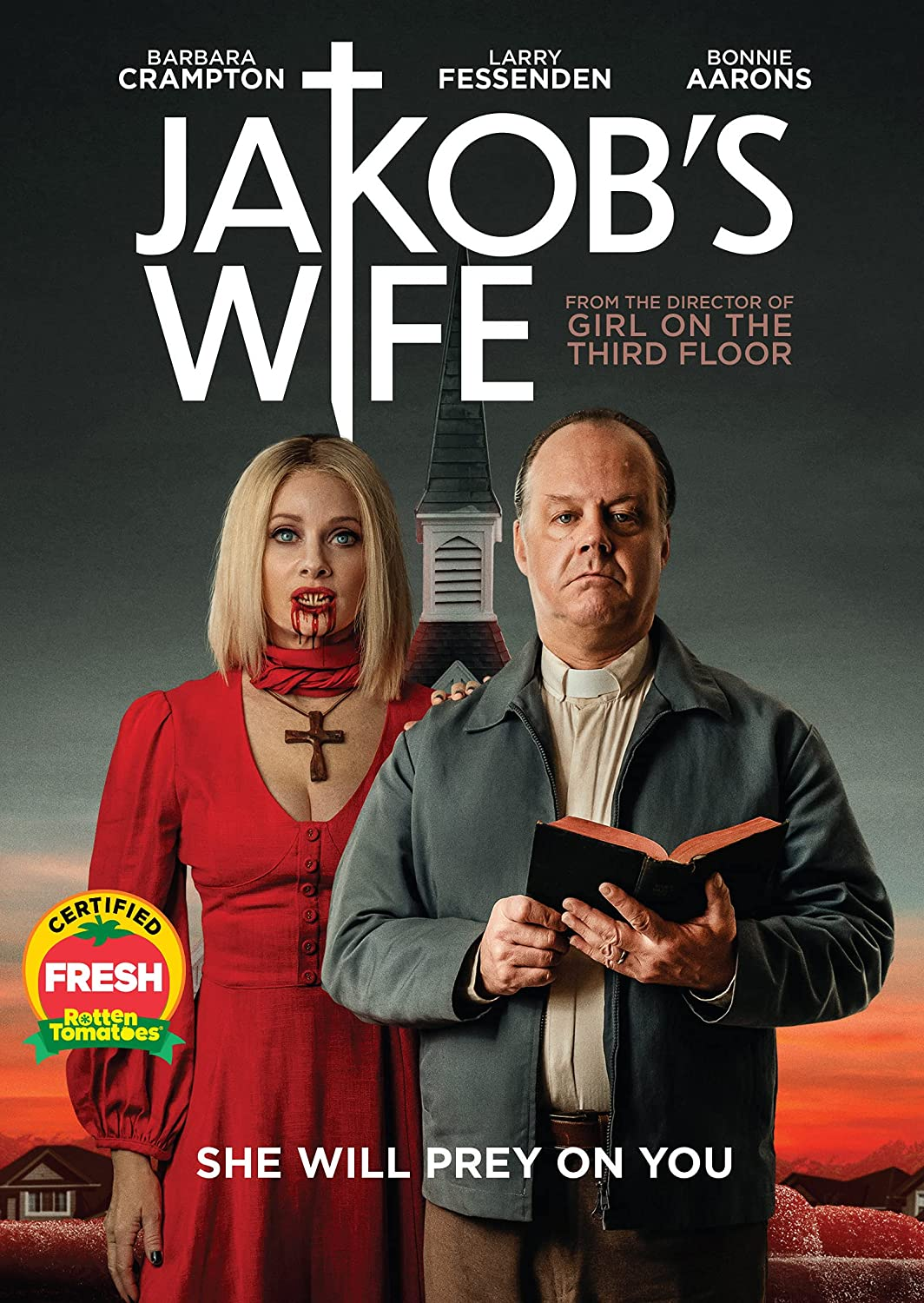 Jakob's Wife 2021 Hindi Dubbed 400MB HDRip 480p Download
