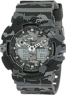 Casio G-Shock Analog Grey Dial Men's Watch - GA-100CM-8ADR (G581)